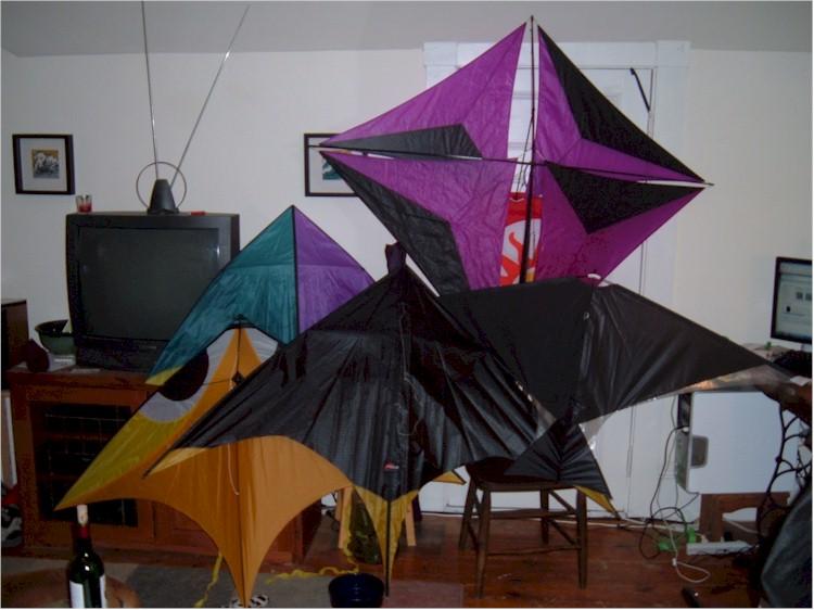 News from windswept kites ultra light single line kites for Indoor kite design