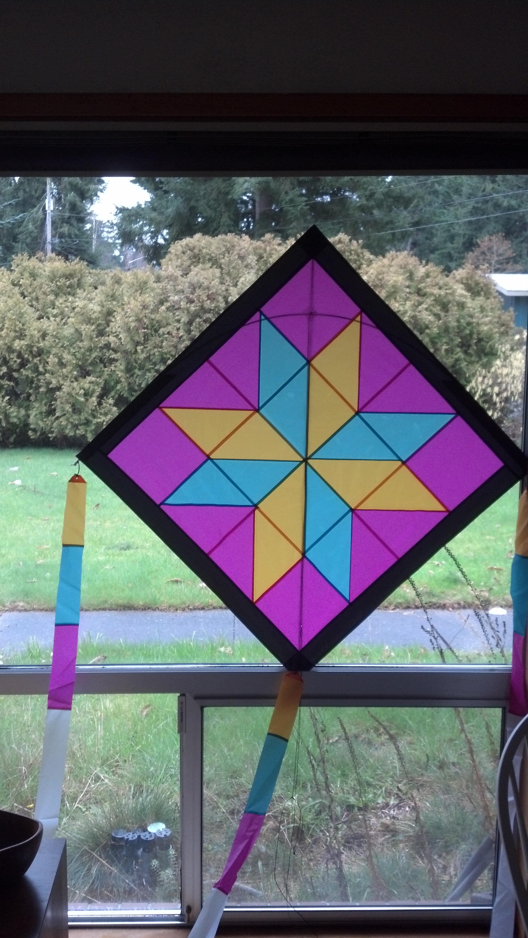 The Quilt Block Kite Plan